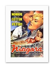 NIAGARA MARILYN MONROE BELGIUM Poster Advertising Film Canvas art Prints