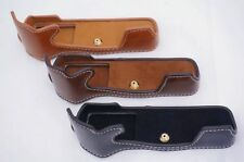 Pu Leather case cover bag for Olympus OM-D EM5 II M2 half Bottom