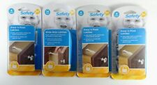 Safety 1st Wide Grip Cabinet Locks & Drawer Latches Child Proof - 48390- 48446