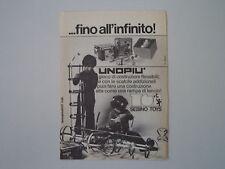 advertising Pubblicità 1976 SEBINO TOYS UNOPIU'