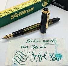 Pelikan 400NN TORTOISE BROWN Fountain Pen Vintage FLEX 14k gold BB NOODLE