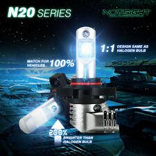 2x NOVSIGHT H16 5202 LED Bulbs Hi/Low Beam 50W 10000LM Headlight Conversion Kit