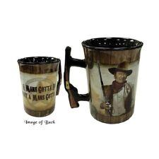 More details for a mans gotta do (john wayne) mug