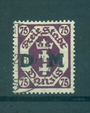 FREE CITY OF DANZIG - GERMANY 1922 75 Pf Official Stamp