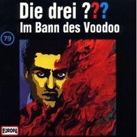 "DIE DREI ??? ""IM BANN DES VOODOO (FOLGE 79)"" CD HÖRBUCH NEUWARE"