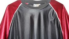 Very Nice! Thor Short Sleeve Pull-over Hockey Jersey Men's Xl Maroon and Black