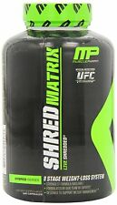 MUSCLE PHARM SHRED MATRIX 120 CAPSULES - FAT BURNER.