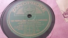 FOSTER RICHARDSON THE PEOPLE THAT WALKED IN DARKNESS ZONOPHONE A372
