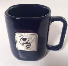 Georgia Tech University Buzz Mascot Coffee Mug Tea Cup - Blue Marble - NICE