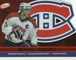 SAKU KOIVU 2001-02 ATOMIC *RED* #51 (20/290) RARE