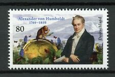 Germany Stamps 2019 MNH Alexander von Humboldt Monkeys Butterflies Nature 1v Set