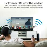 USB Bluetooth V5.0+EDR Transmitter Receiver Stereo top Audio Adapte W2E0