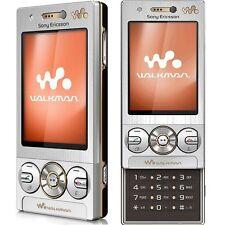 New Sony Ericsson W705 Slide Walkman Luxury Silver Unlocked WIFI Mobile Phone