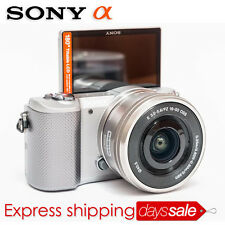 [Brand New] SONY A5000 Mirroless Camera *White with 16-50mm Lens + 16GB SD Card