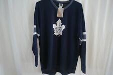 NHL TORONTO Maple Leafs John XL Blue Jersey XL NWT