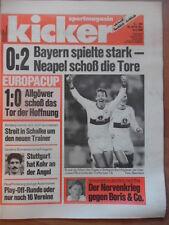 KICKER 29 - 6.4. 1989 SSC Neapel-Bayern München 2:0 Stuttgart-Dynamo Dresden 1:0