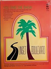 """MUSIC MINUS ONE - VOCAL,  """"SUNSET BOULEVARD""""  - YOU SING THE SHOW, CD, WORDS"""
