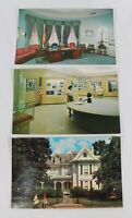 Harry Truman Library & Independence Lot of 3 Postcards PC US Highway 24