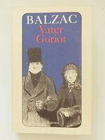 Honore de Balzac  Vater Goriot Roman Diogenes Verlag