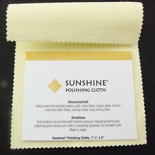 Sunshine Jewellery Polishing Cloth Jewelry Cleaner Silver Gold Brass Watches