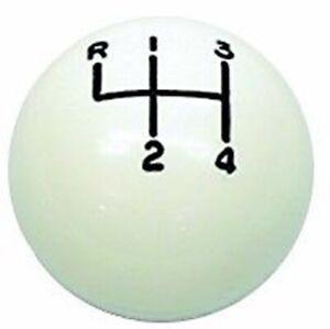 66 67 68 69 70 71 72 73 74 CAMARO CHEVELLE NOVA WHITE GTO HURST SHIFT BALL KNOB