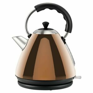 Rose Gold Copper Effect 1.7L Kettle
