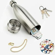 750ML Diversion Water Bottle Secret Stash Pill Organizer Can Safe Metal Tumbler