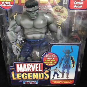 "GREY HULK Marvel Legends Toybiz Action Figure Toy 16"" Galactus Series Sealed"