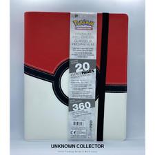 More details for ultra pro - 9 pocket premium pro binder - pokemon poke ball, holds 360 cards