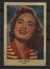 Ann Blyth Vintage Movie Film Star Trading Card