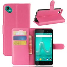 Cover Wallet Premium Pink For Wiko Sunny 2 Plus Case Cover Pouch Protective