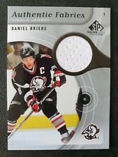 2005-06 SP Game Used Authentic Fabrics AF-BE Daniel Briere