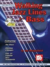 Mel Bay Walking Jazz Lines for Bass by Jay Hungerford, book and cd