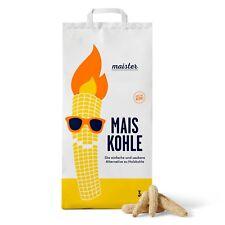 Original Maister Maiskohle - Grillkohle aus Mais 3 Kg Sack - hohe Hitze