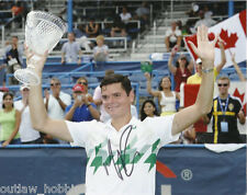Milos Raonic Autographed Signed 8x10 Photo COA
