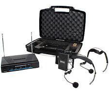 Cheap Skytec Neckband VHF Wireless Microphone System