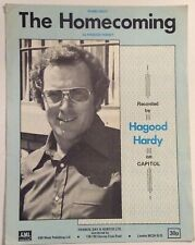 THE HOMECOMING. -  HAPGOOD HARVEY. -  SHEET MUSIC