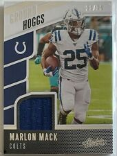 MARLON MACK (COLTS) 2020 PANINI ABSOLUTE GROUND HOGGS MATERIALS /99 [JERSEY]