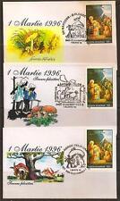 ROMANIA 1996 LILLIPUT COVER MUSHROOM VERY RARE