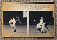 AP Laserphoto Vintage Chicago White Sox Dan Pasqua 1988 Seattle Kingdome
