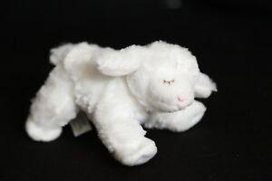 Gund Baby WINKY Rattle 058926 White Lamb Plush Toy Doll