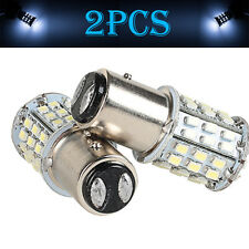 2PCS BAY15D 64SMD LED 1157 Dual Filament Brake Stop Tail Light Bulb Globe 12v AU