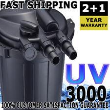 Aqua One Claritec Pond Canister Water Filter 3000 UV Sterilizer 3YR WARRANTY