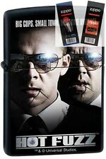 Zippo 0472 hot fuzz movie Lighter with *FLINT & WICK GIFT SET*
