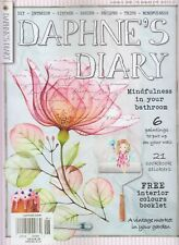 DAPHNE'S DIARY MAGAZINE 2020 ISSUE #6 PAPER LOVERS MINDFULNESS IN YOUR BATHROOM
