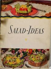 BLUE RIBBON MAYONNAISE SALAD IDEAS ADVERTISING RECIPE BROCHURE VINTAGE HELLMANNS