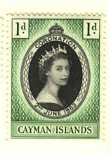 Royalty Single Caymanian Stamps