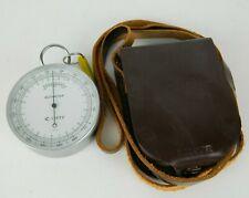 Vintage Lietz Altimeter Land Survey With Leather Case Amp Strap