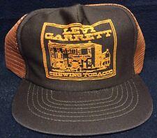 NOS Vtg 70s 80s LEVI GARRETT Chewing Tobacco Snapback Mesh Trucker Hat Hillbilly