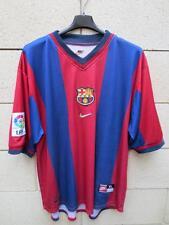 VINTAGE Maillot BARCELONE BARCELONA camiseta NIKE shirt ancien XL
